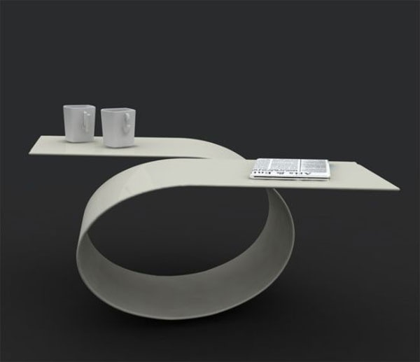 Beautiful Loop Coffee Table for a Stylish Living Room_image