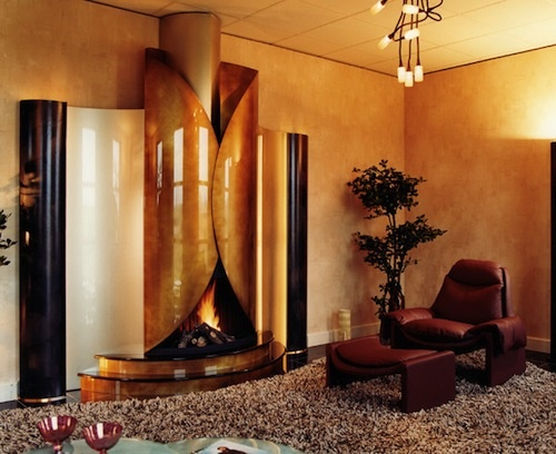 Stunning Glass And Metal Fireplaces By Bloch Design_image