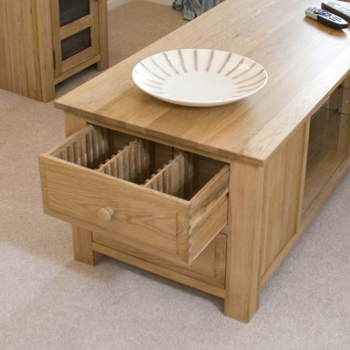 nevada coffee table tv unit with cd dvd storage audio visual units bradley stoke furniture