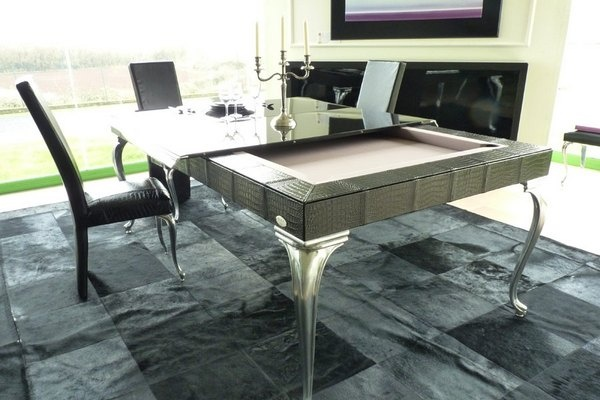 Transform Your Dinnig Table into a Billiard Table_image