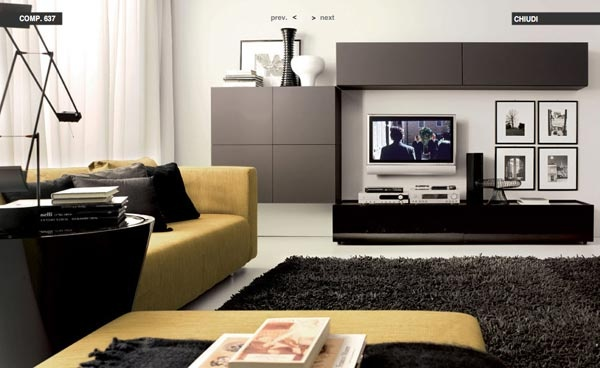 Modern Living Room Decorating Ideas from Tumidei_image