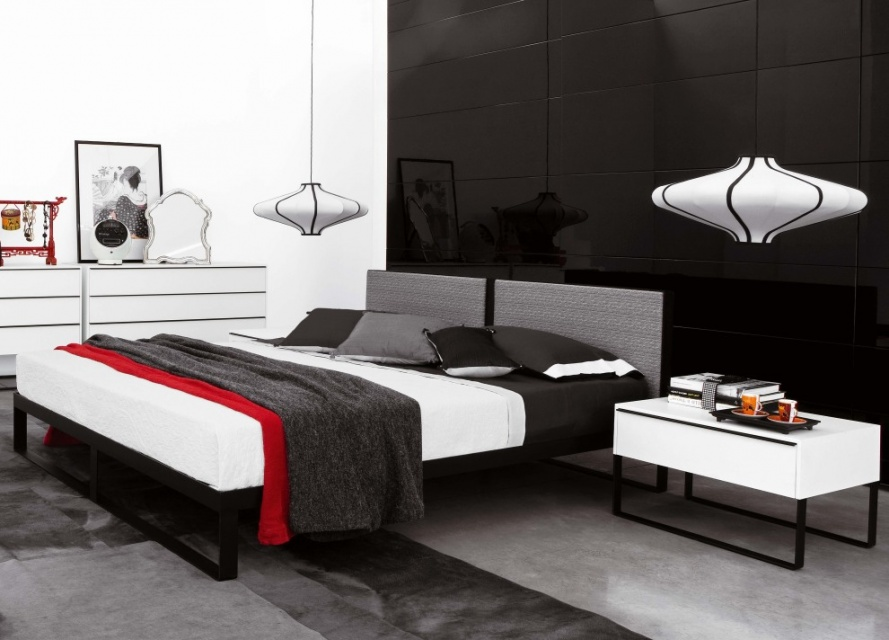 Join Contemporary Bed Double Beds Go Modern Furniture