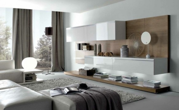 Modern Style Living Rooms from MisuraEmme_image