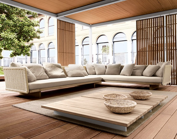 Outdoor Interior Design - a different kind of interiors by Paola Lenti_image