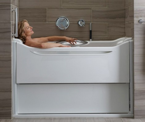 Easy Access Bathtub by Kohler Makes Things Easier and More Relaxing_image