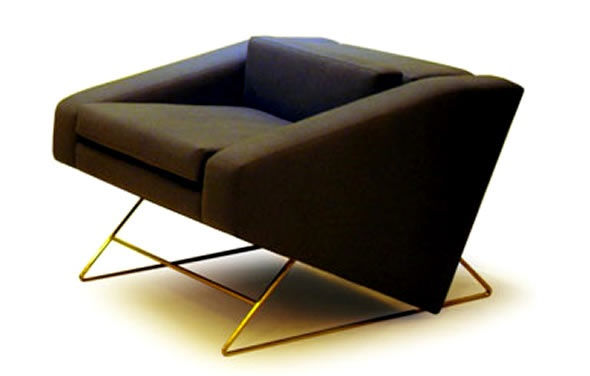 Modern Interior Decorating Furniture Clark Chairs by Joe Dufell_image