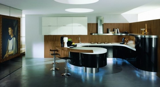 Domina - Rounded Kitchen By Stemik Living_image