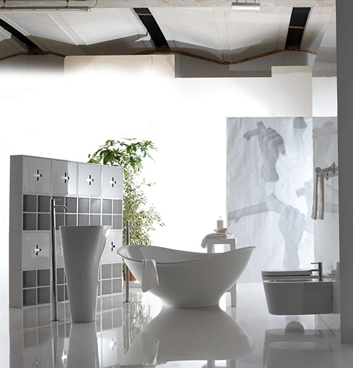 Aesthetic Bath - contemporary, minimalist Meg11 by Galassia_image
