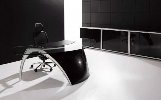 Futuristic Desks for Home Office – Luna By Uffix_image