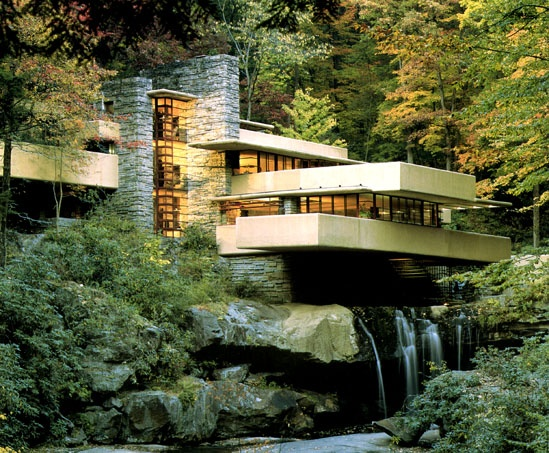 Fallingwater – One Of The Most Famous Houses In The World Built Over a Waterfall_image
