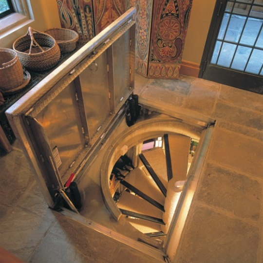 Trap Door Wine Cellar Design_image