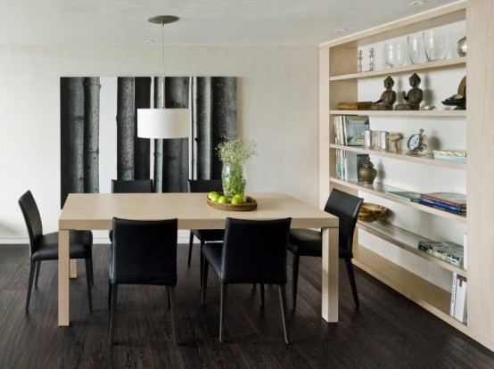 Minimalist Apartment With Vintage Furniture Pieces_image