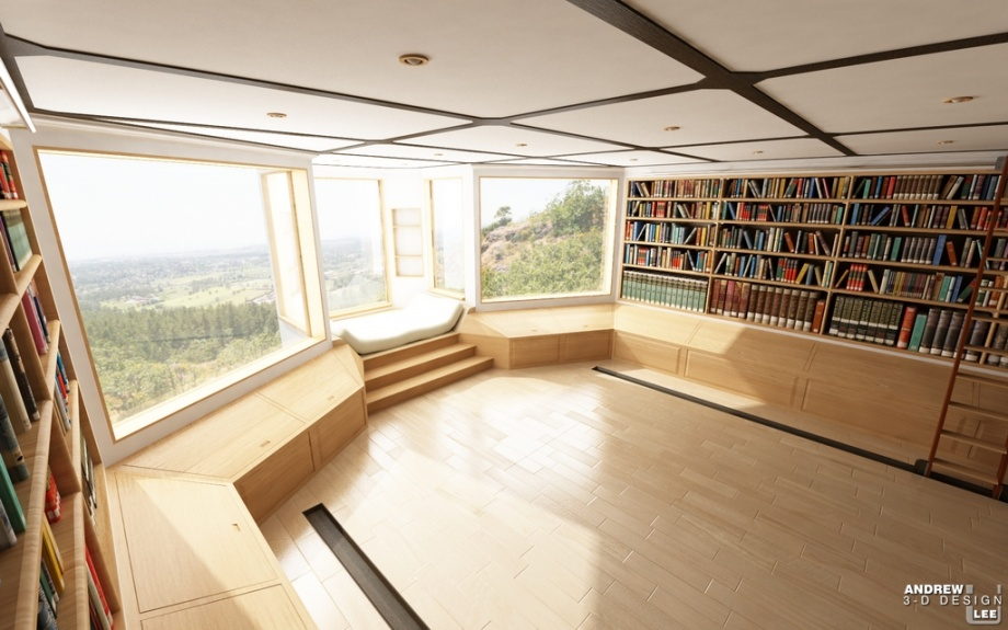 Inspiration for Home Library_image