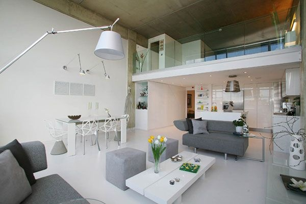 Beautiful Loft Design in London_image