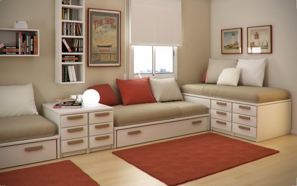 Small Floorspace Kids Rooms_image