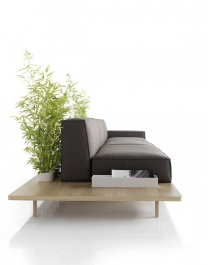 Mus Modular Sofa Comes With Its Own Pedestal_image