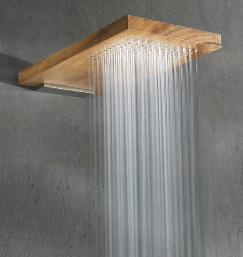 Wood Shower Head by Rare - Terra Marique_image