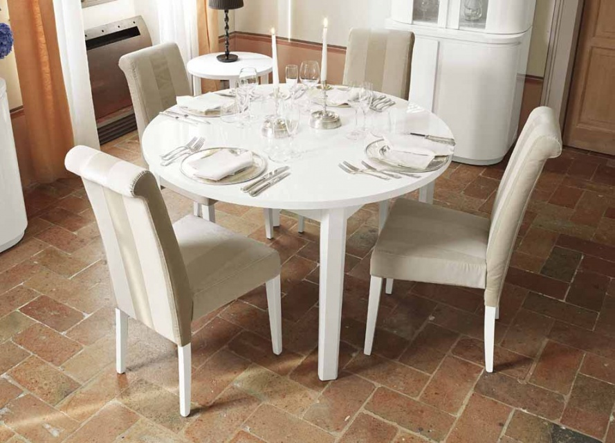 Curvato Extending Dining Table Extendable Tables