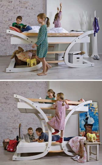 2 Cool Twin Beds for Kids Bedroom_image
