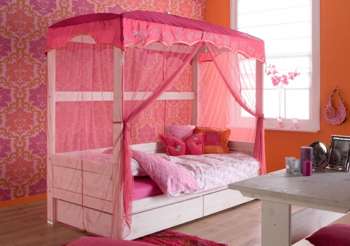 Jaipur Four Poster Bed Four Poster Beds Kids Rooms
