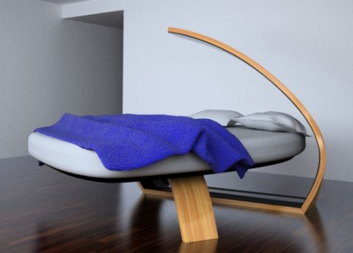 BSide Wooden Bed Has No Need of a Mattress_image