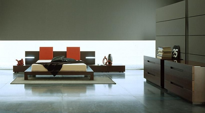 Modern Interni Win Bed by Rossetto Does Japanese Style Well_image