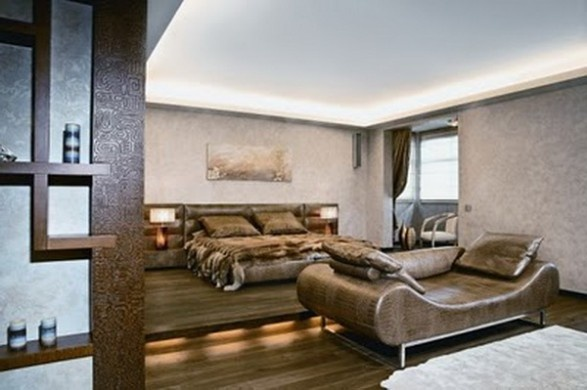 Modern Apartment With African Elements of Decor_image