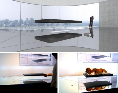 For Real: 1.6 Million-Dollar Magnetic Hover Bed Floats on Air_image