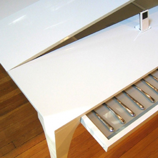 Piano DiningTable for Music Enthusiasts : The Concerto Table_image