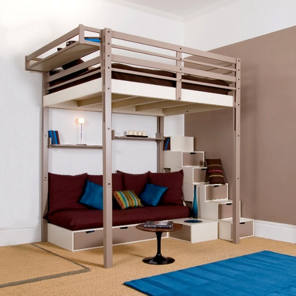 Bedroom Design for Small Space_image