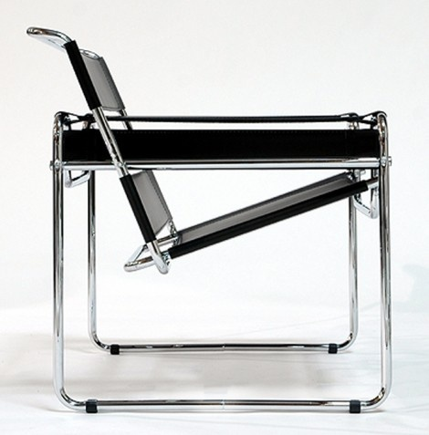 The wassily style dessau chair has a great design for Pool design dessau