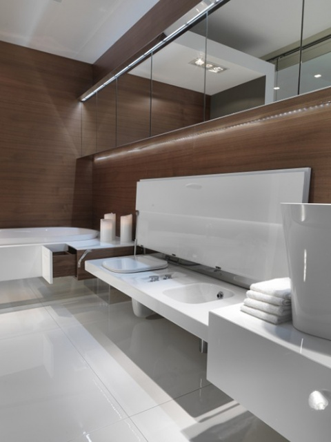 Bathroom with Seating by Falper_image
