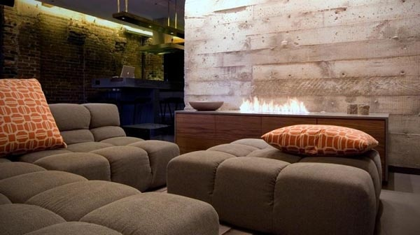 Contemporary Bachelor Pad with a Defining Mixture of Styles_image