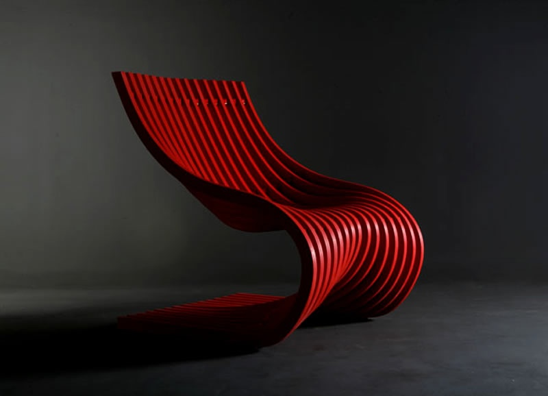 Contemporary Chairs Double Section Furniture Design By