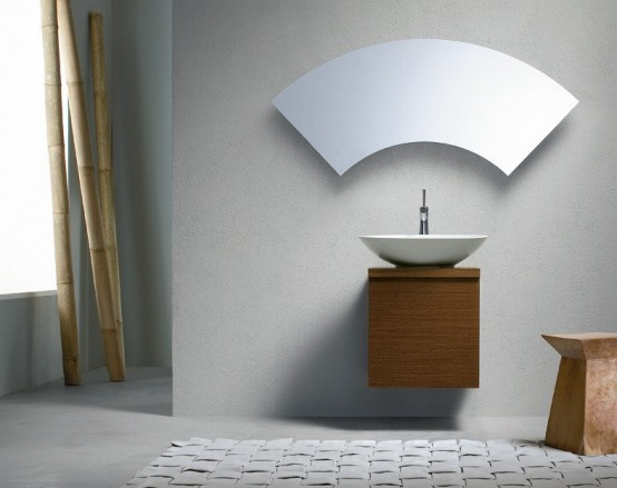Irregular Mirrors for Your Bathroom_image