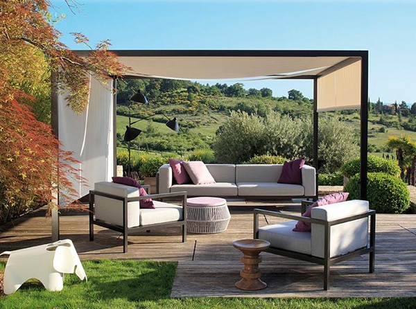 Outdoor Design Ideas - outdoor spaces decorating by Kettal_image