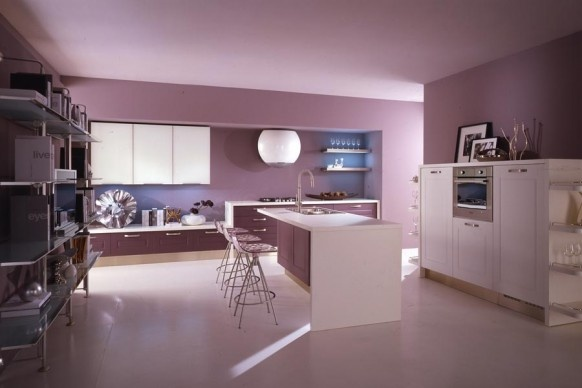 Purple Kitchens_image