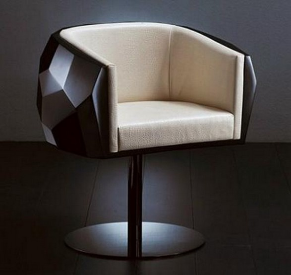 Crystal Armchair Sitting Geometric_image