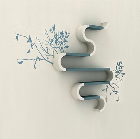Shelving Units as Functional, Sculptural & Graphic Designs_image