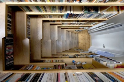 Staircase that is a Bookcase _image