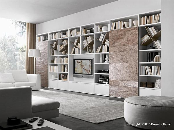 Living Room Storage Solutions, Ideas - 'Pari & Dispari' units by Presotto_image