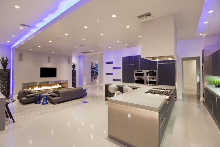 House in Las Vegas is a Perfect Space for Parties_image