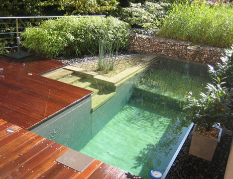 Natural Home Patio Pools & Outdoor Wood Deck Designs_image