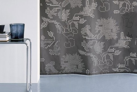 3D Textiles: Patterned Cuts Add Depth to Flat Interior Decor_image