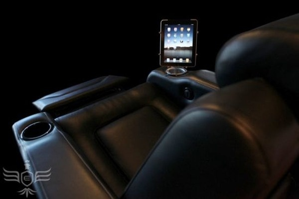 Multimedia Chair Especially Made For Apple iPad_image