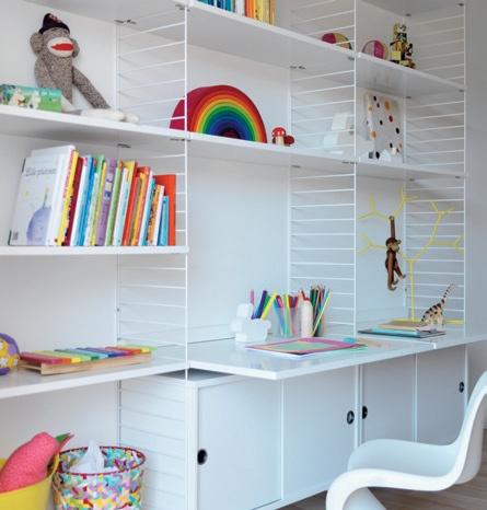 Minimalist Scandinavian Shelves and Cabinets System_image