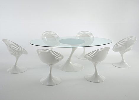 Casual Table and Chairs Set - modern elegant design by Casprini_image