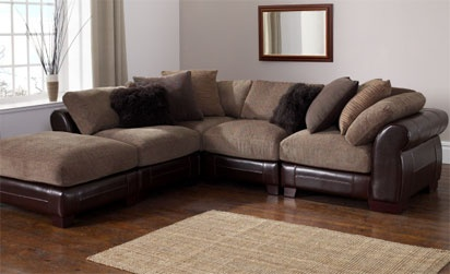 Java Leather Corner Sofa, Sofa corner units, EW Home Furniture ...
