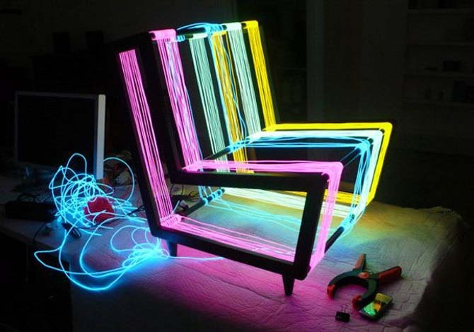 Flashy Chair Furniture, Disco Chair by Kiwi & Pom_image