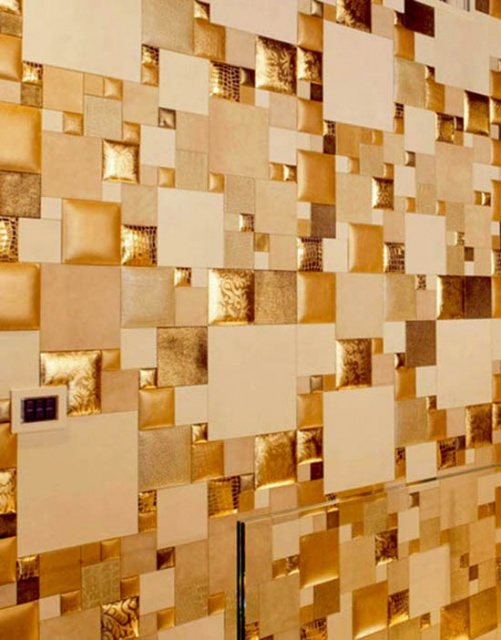 Wall Panels Made of Leather_image